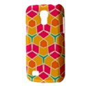Shapes in retro colors patternSamsung Galaxy S4 Mini (GT-I9190) Hardshell Case View3