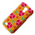 Shapes in retro colors patternSamsung Galaxy S4 Mini (GT-I9190) Hardshell Case View4