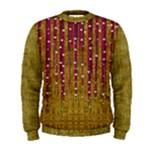 Japanese strawberry tree in gold Men s Sweatshirt