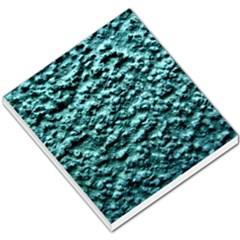 Blue Green  Wall Background Small Memo Pads by Costasonlineshop