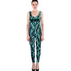 Blue Green  Wall Background Onepiece Catsuits by Costasonlineshop
