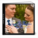 Theriault wedding  - 8x8 Photo Book (20 pages)