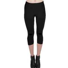 Black Gothic Capri Leggings by Costasonlineshop