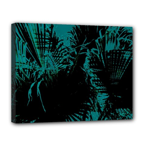 Palm Designs Canvas 14  X 11  by timelessartoncanvas