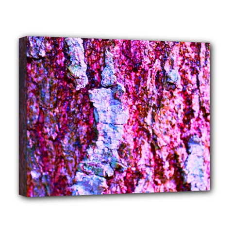 Purple Tree Bark Deluxe Canvas 20  X 16   by timelessartoncanvas