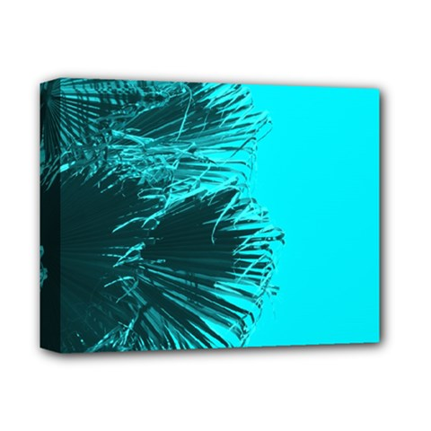 Modern Palm Leaves Deluxe Canvas 14  X 11  by timelessartoncanvas