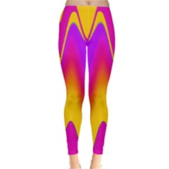 Love to the colors Leggings  by pepitasart