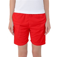 Trendy Red  Women s Basketball Shorts by Costasonlineshop