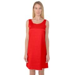 Trendy Red  Sleeveless Satin Nightdresses by Costasonlineshop