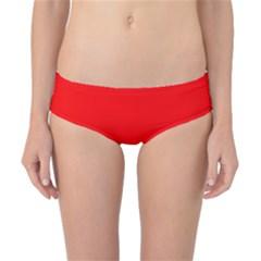 Trendy Red  Classic Bikini Bottoms by Costasonlineshop