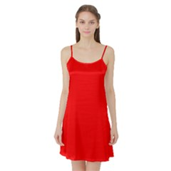 Trendy Red  Satin Night Slip by Costasonlineshop