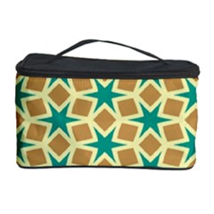 Stars And Squares Pattern Cosmetic Storage Case by LalyLauraFLM