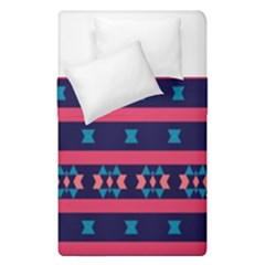 Stripes And Other Shapes Pattern  Duvet Cover (single Size) by LalyLauraFLM
