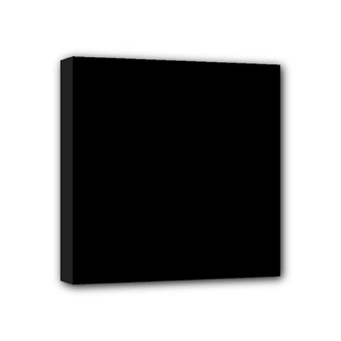 Black Gothic Mini Canvas 4  X 4  by Costasonlineshop