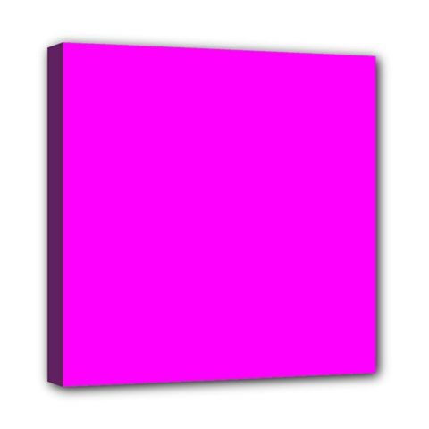 Trendy Purple  Mini Canvas 8  X 8  by Costasonlineshop
