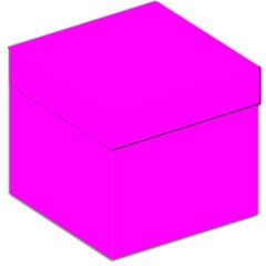 Trendy Purple  Storage Stool 12