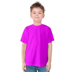 Trendy Purple  Kid s Cotton Tee by Costasonlineshop
