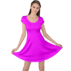 Trendy Purple  Cap Sleeve Dresses by Costasonlineshop