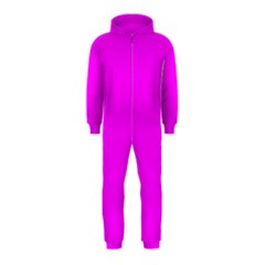 Trendy Purple  Hooded Jumpsuit (kids) by Costasonlineshop