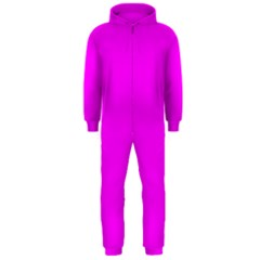 Trendy Purple  Hooded Jumpsuit (men)  by Costasonlineshop