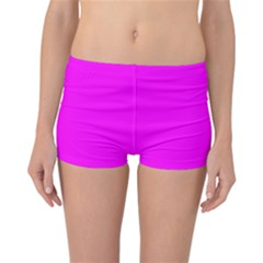 Trendy Purple  Reversible Boyleg Bikini Bottoms by Costasonlineshop