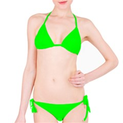 Cool Green Bikini Set