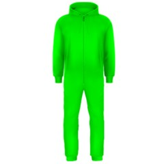 Cool Green Hooded Jumpsuit (men)  by Costasonlineshop
