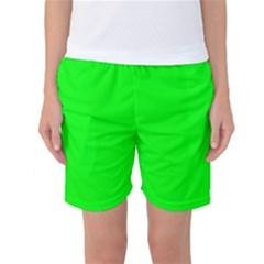 Cool Green Women s Basketball Shorts by Costasonlineshop