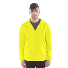 Beautiful Yellow Hooded Wind Breaker (men) by Costasonlineshop