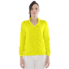 Beautiful Yellow Wind Breaker (women) by Costasonlineshop