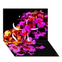 Lantanas Clover 3d Greeting Card (7x5)