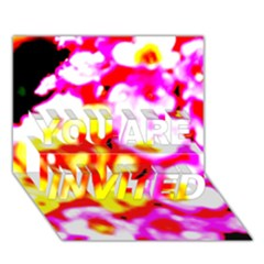Dsc 01036 You Are Invited 3d Greeting Card (7x5)  by timelessartoncanvas