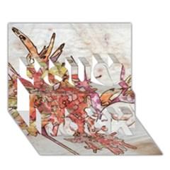 Art Studio 17216 You Rock 3d Greeting Card (7x5)  by MoreColorsinLife