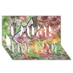 Art Studio 21216 Laugh Live Love 3d Greeting Card (8x4)