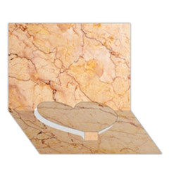 Stone Floor Marble Heart Bottom 3d Greeting Card (7x5)  by essentialimage