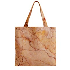 Stone Floor Marble Zipper Grocery Tote Bags by essentialimage