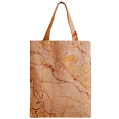 Stone Floor Marble Zipper Classic Tote Bags by essentialimage