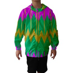 Chevrons Hooded Wind Breaker (kids)