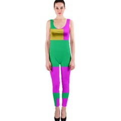 Rectangles and other shapes OnePiece Catsuit by LalyLauraFLM