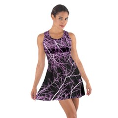 Purple Twigs Racerback Dresses by timelessartoncanvas