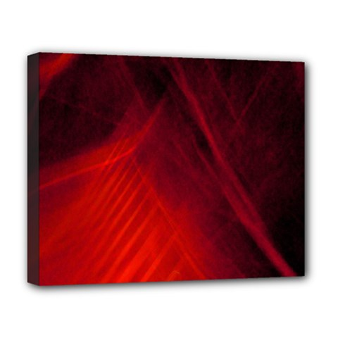 Red Abstract Deluxe Canvas 20  X 16   by timelessartoncanvas