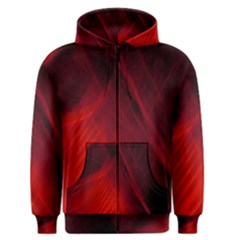 Red Abstract Men s Zipper Hoodie by timelessartoncanvas