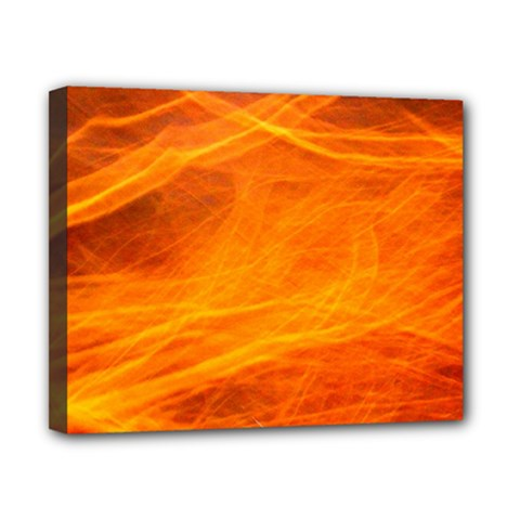 Orange Wonder Canvas 10  X 8  by timelessartoncanvas