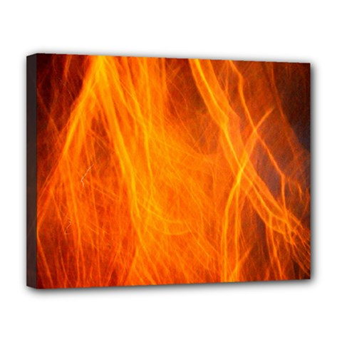 Orange Wonder 2 Canvas 14  X 11  by timelessartoncanvas