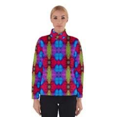Colorful Painting Goa Pattern Winter Jacket