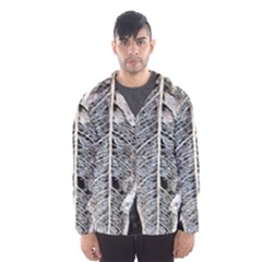 Modern Leaf 2 Hooded Wind Breaker (men) by timelessartoncanvas