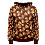 Curious Maple Fox (Dark) Women s Pullover Hoodie