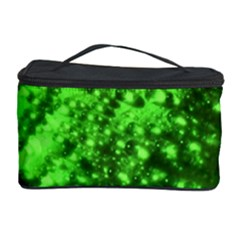Green And Powerful Cosmetic Storage Cases by timelessartoncanvas
