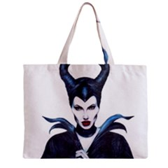 Maleficent Drawing Zipper Tiny Tote Bags by KentChua
