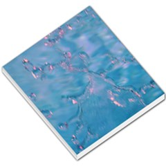 Abstract Waters With Hints Of Pink Small Memo Pads